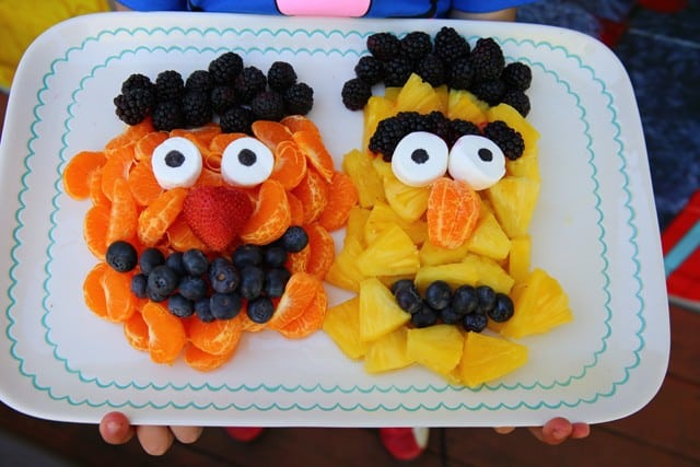 Sesame Street Fruit theme - Burt and Ernie