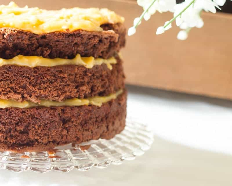 How to make the best German Chocolate Cake from Scratch you've ever tasted!