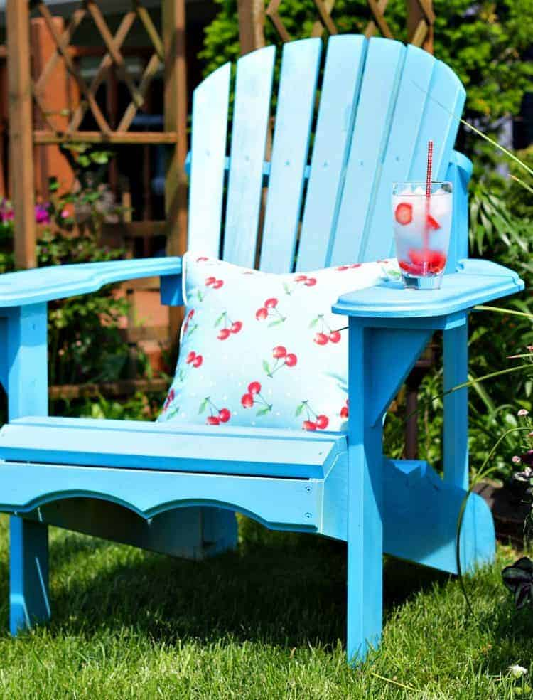Adirondack Chairs, a comfy and customizable outdoor seating solution.
