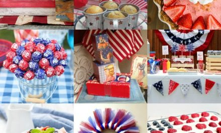 Pretty and Patriotic Projects and Recipes