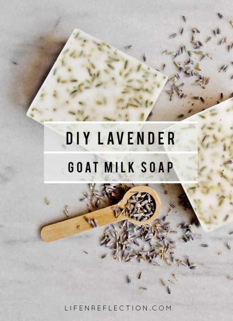 DIY Lavender Goat Milk Soap