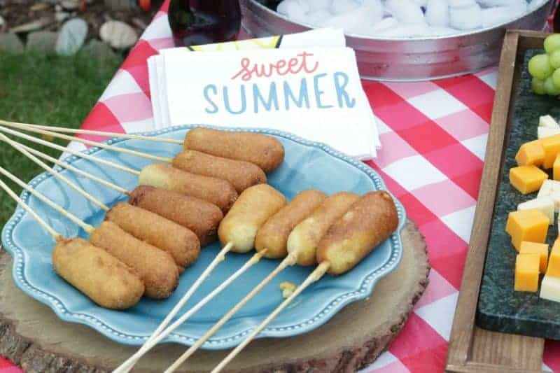 Homemade mini corn dogs just like you get at the State Fair or carnival only better!