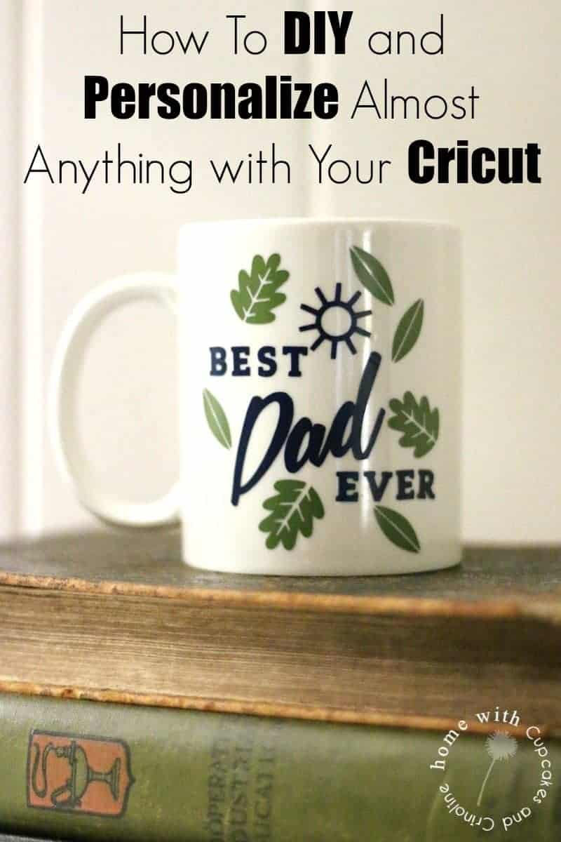 How-to DIY vinyl on to a mug with your Cricut.