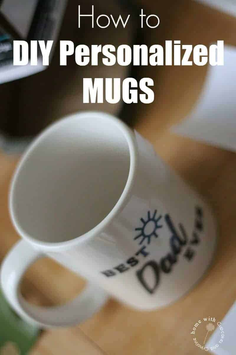 How to DIY Personalized Mugs