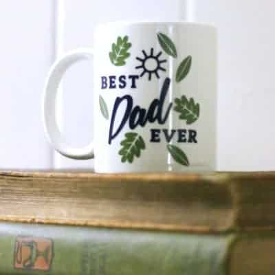 Personalize a Mug with Cricut Vinyl