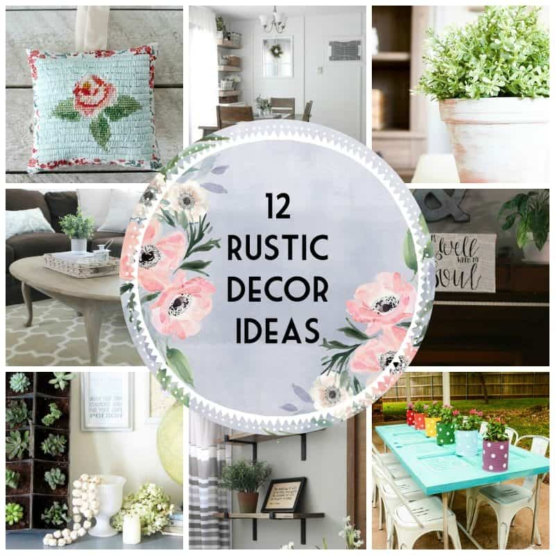 12 Rustic Decor Ideas for Your Home