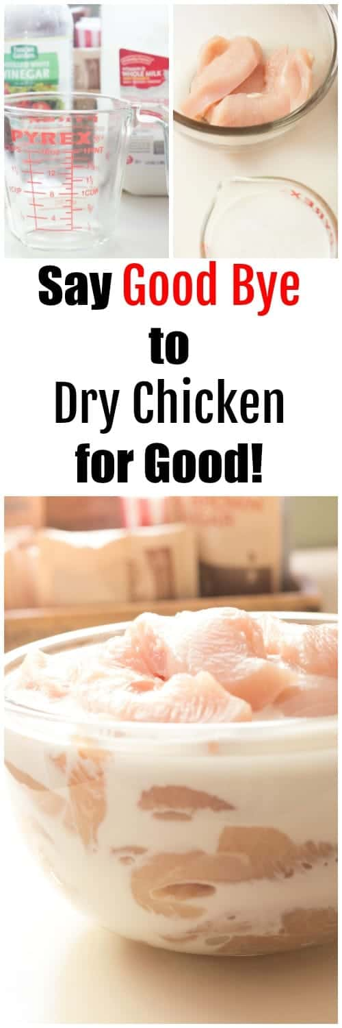 This basic marinade will make chicken breasts moist, delicious, and simply irresistible!
