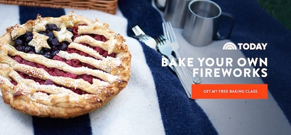 Craftsy has teamed up with their friends at TodayFood to bring you a baking experience like none other! Join pastry chef Gesine Bullock-Prado and learn the secrets to her amazing pies & tarts and today only, it's FREE!