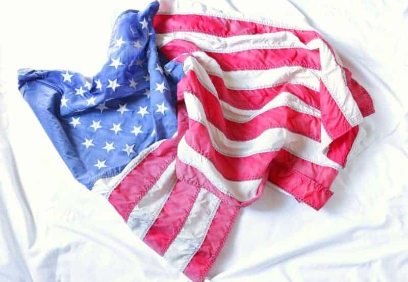 American Flag Wreath - DIY Old Glory Grapevine Wreath