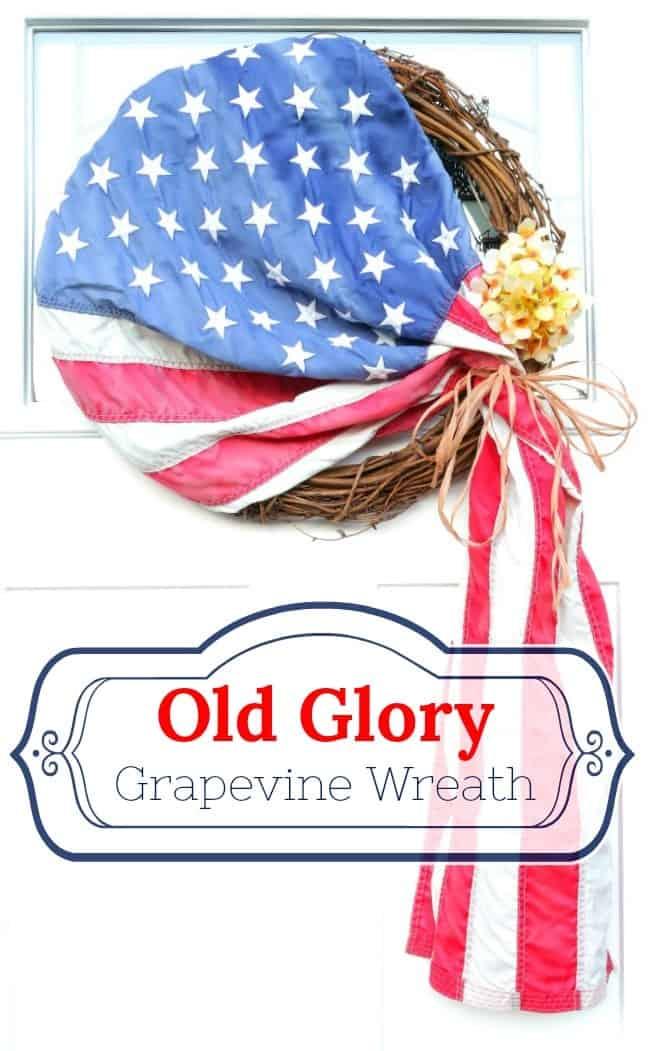Old Glory Patriotic Wreath DIY