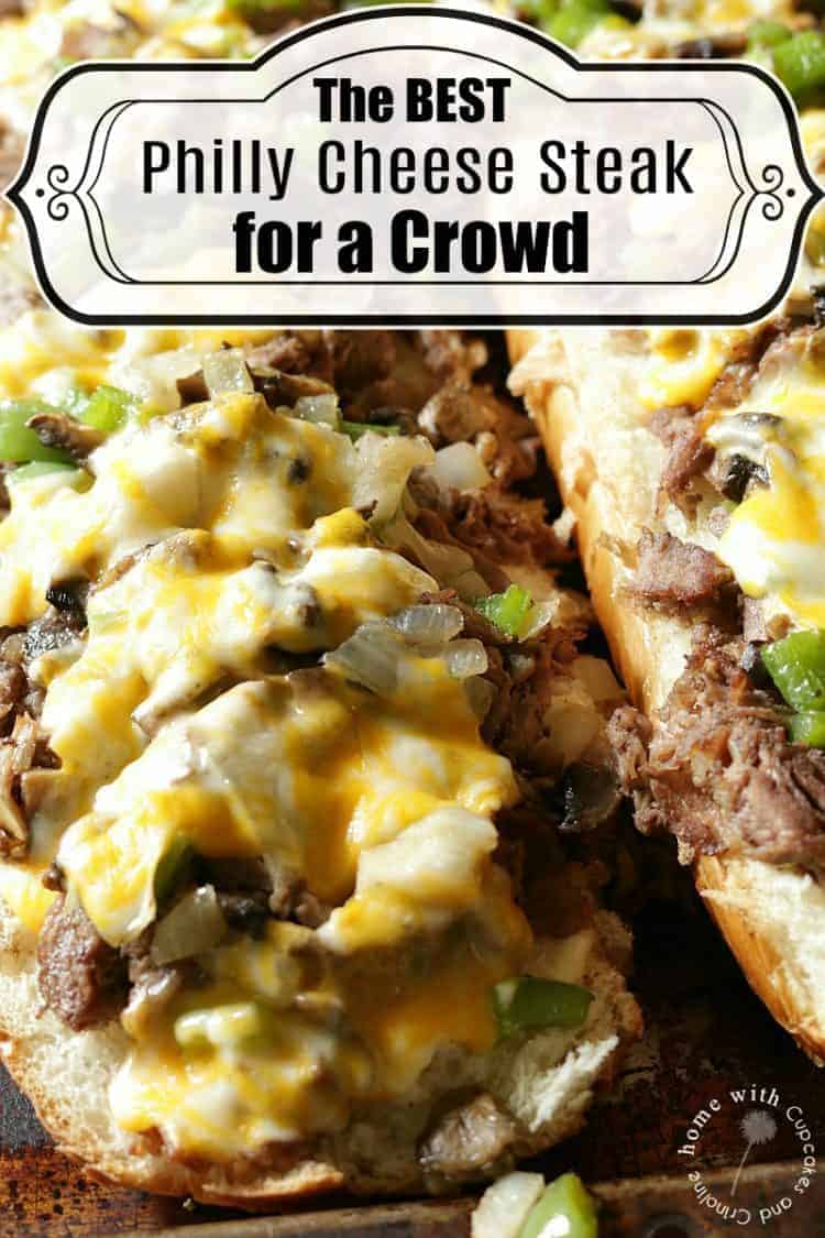 The Best Philly Cheese Steak for a Crowd