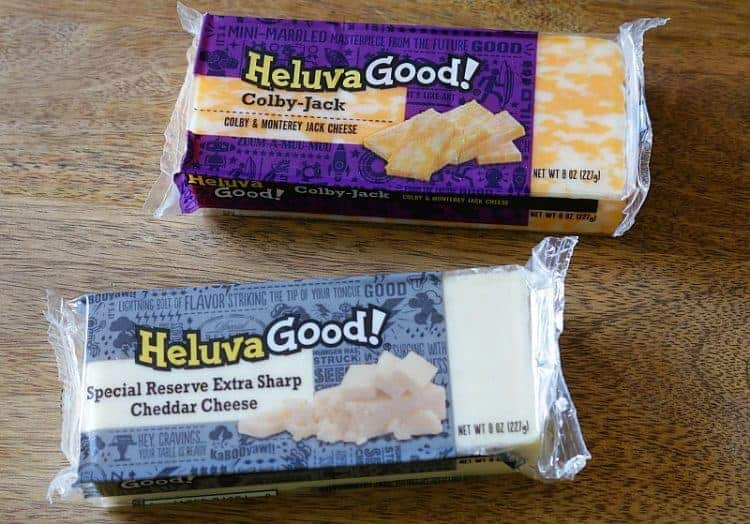 The Best Philly Cheese Steak - ingredients HeluvaGood! Colby-Jack and Special Reserve Extra Sharp Cheddar Cheese