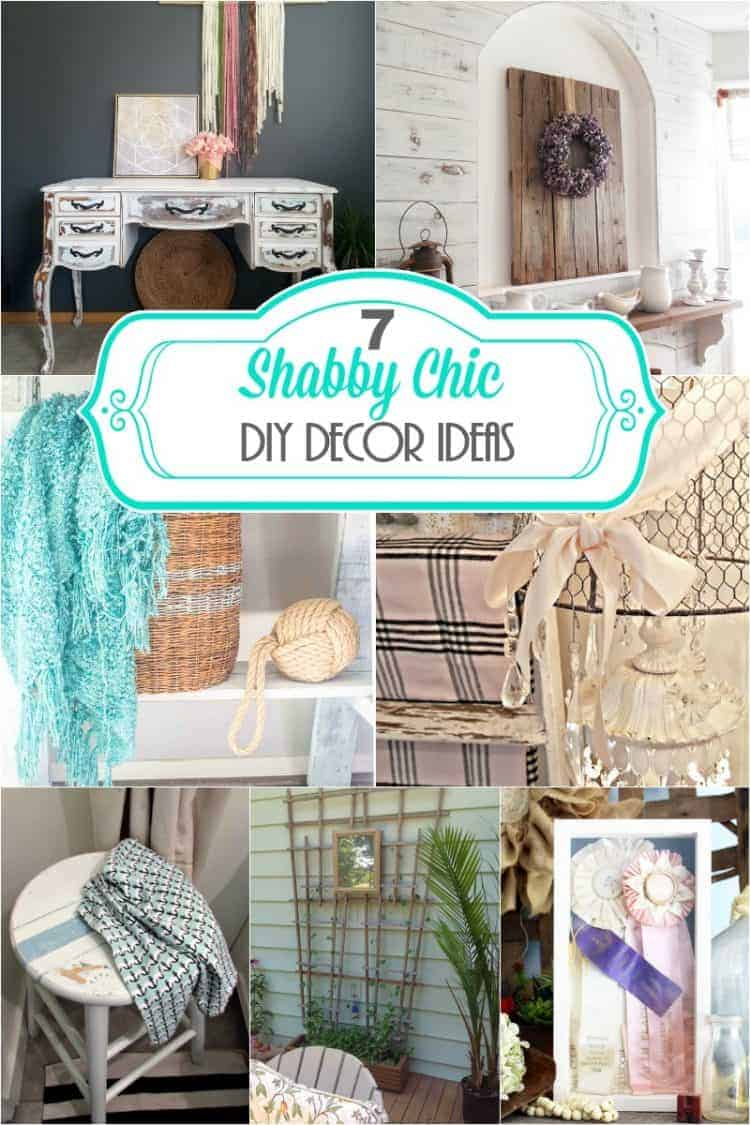 7 Shabby Chic DIY Decor Ideas