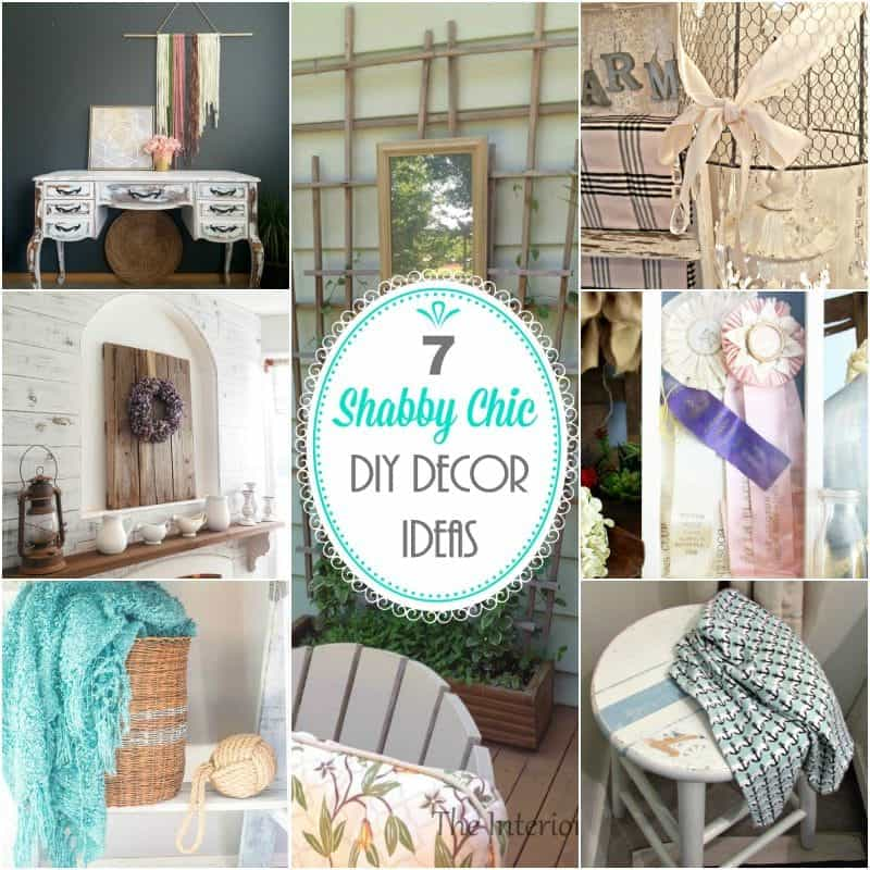 7 Beautiful Shabby Chic DIY Decor Ideas To Make Now ⋆ Home
