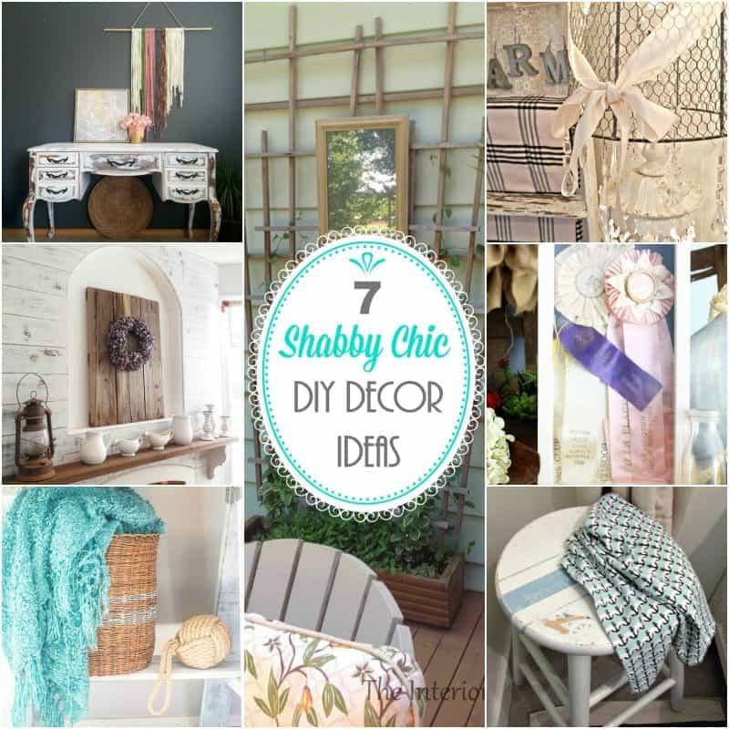 10 Shabby Chic Nursery Design Ideas: 7 Beautiful Shabby Chic DIY Decor Ideas To Make Now ⋆ Home