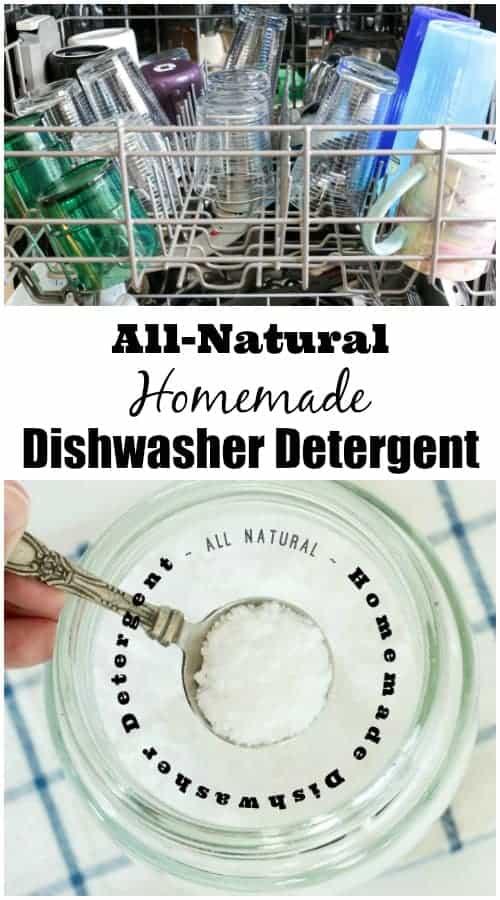 All-Natural Homemade Dishwasher Detergent from www.cupcakesandcrinoline.com
