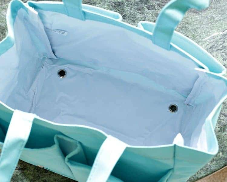 Shower Caddy - deep pockets with drainage holes