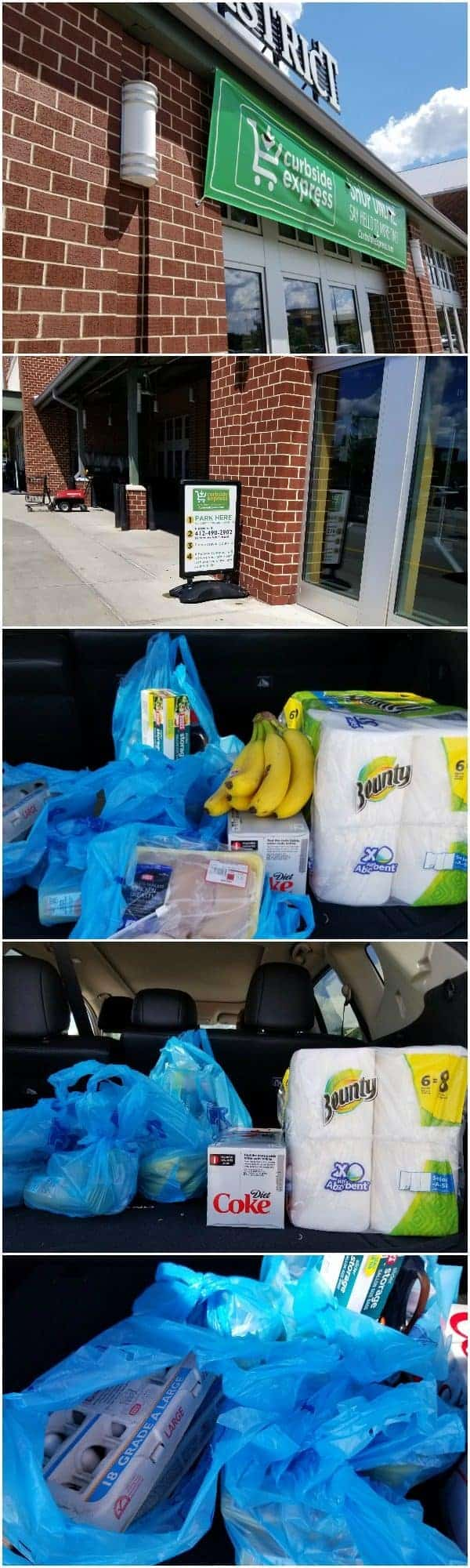 Curbside Express - stop and get your groceries!