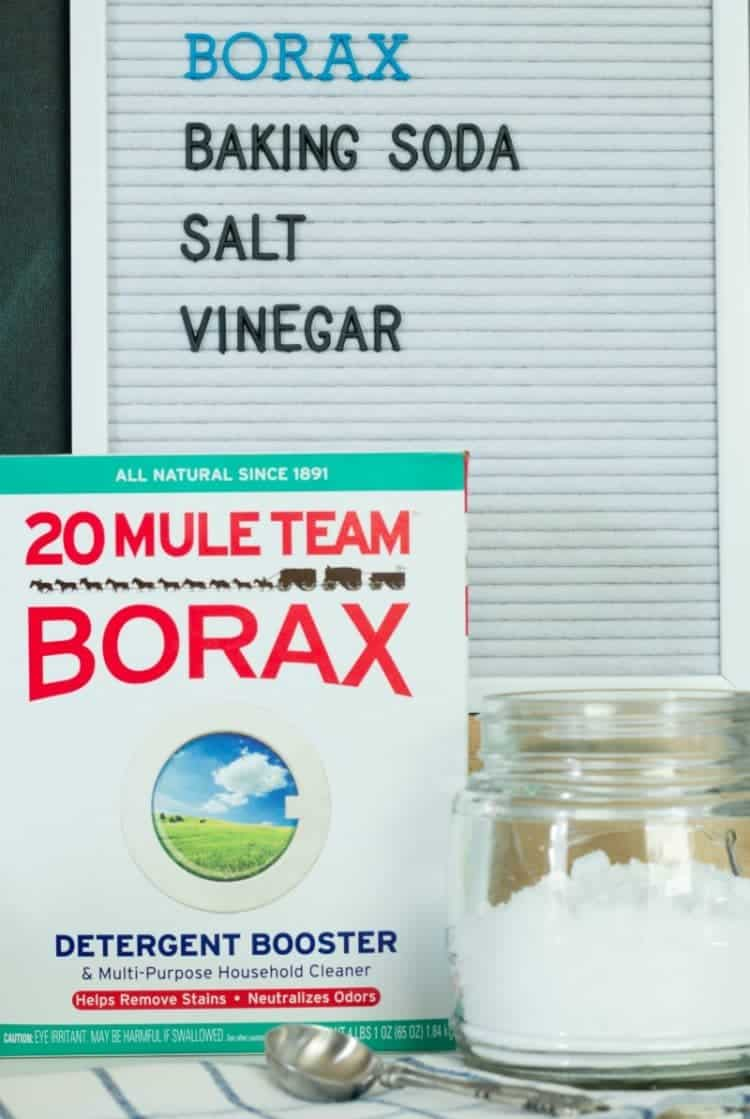 Homemade Dishwasher Detergent using Borax