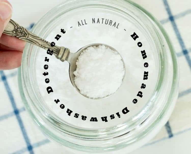 Homemade Dishwasher Detergent using Borax All - Natural