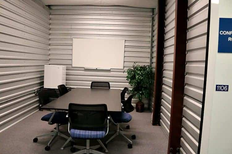 Onsite conference Room #GuardianStorage Home Remodel