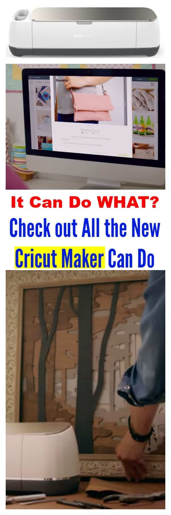 Check out all the new Cricut Maker can do