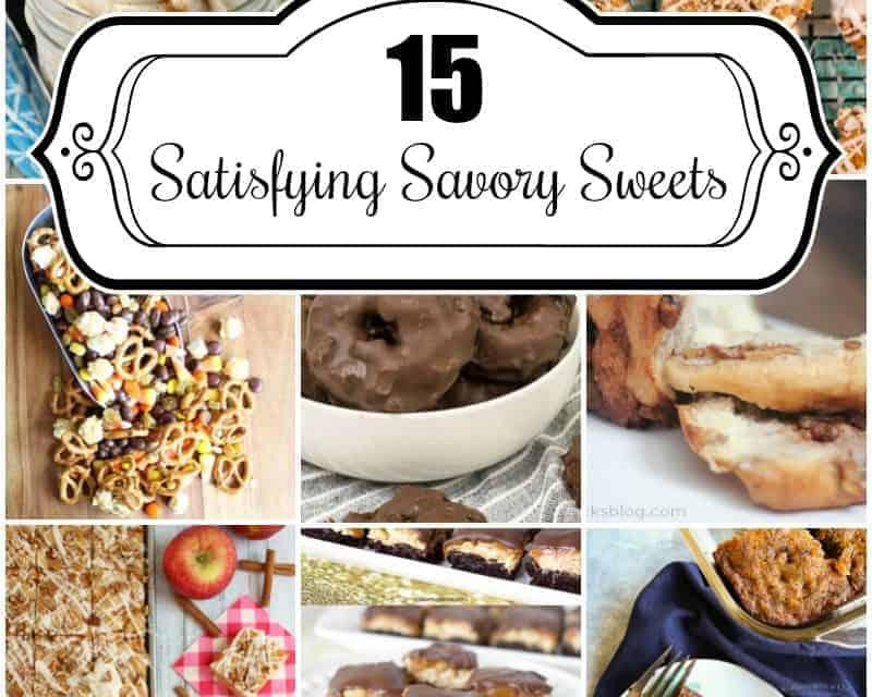 15 Satisfying Savory Sweets