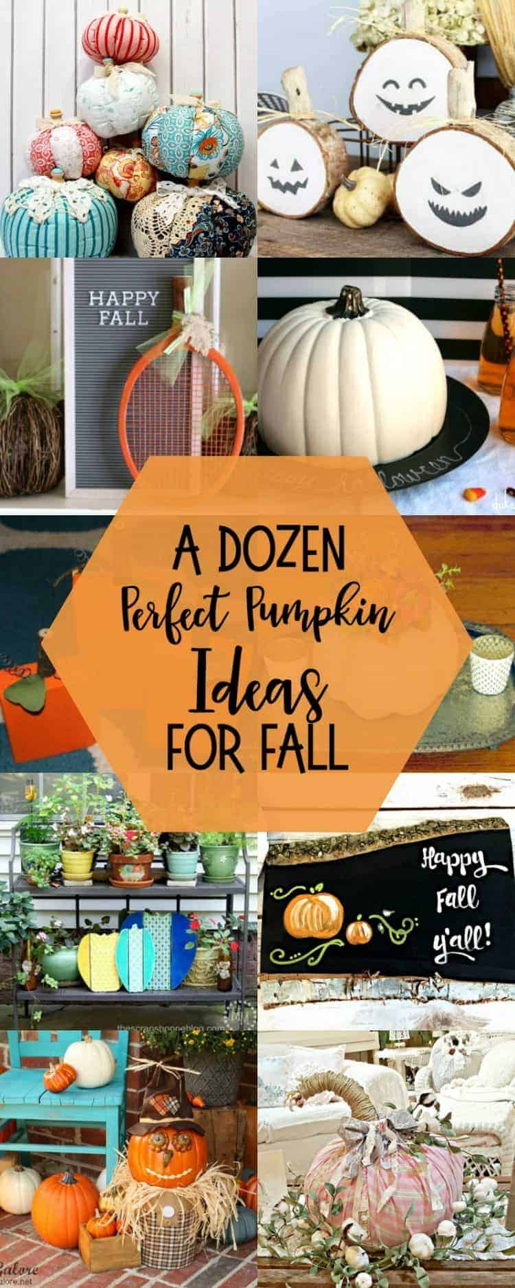 12 perfect adorable pumpkin ideas for fall