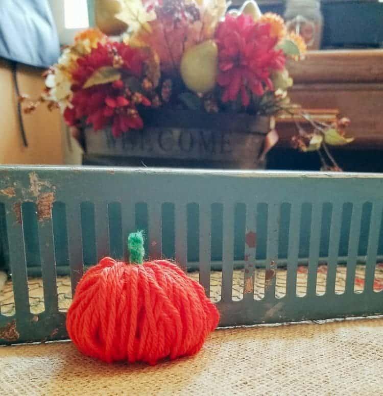 Chubby Yarn Pumpkin