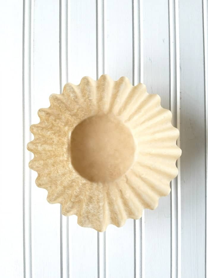 Coffee Filter for Coffee Filter Wreath