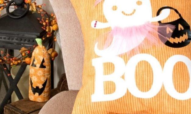 How-To Make an Adorable Boo-Lerina Halloween Pillow