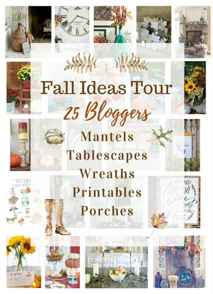 Fall IdeasTour- tons of fall ideas and decor inspiration by top bloggers.