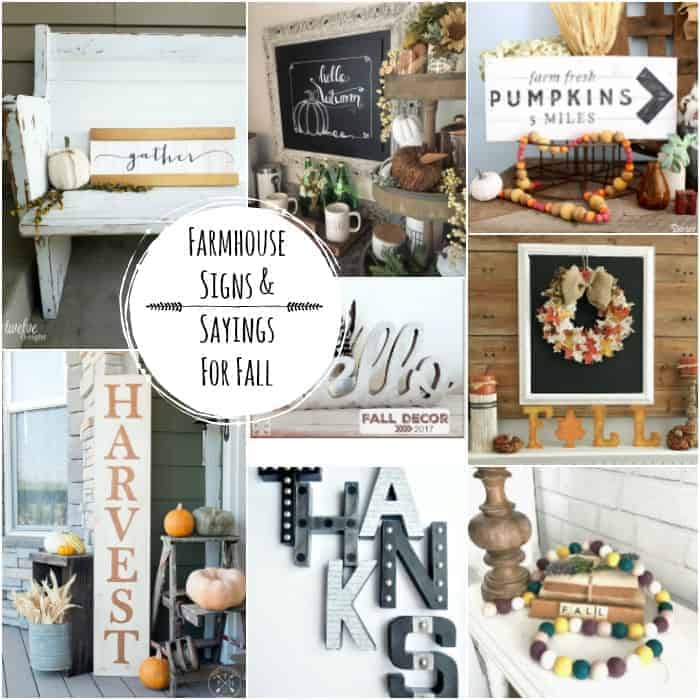 Farmhouse Signs and Sayings