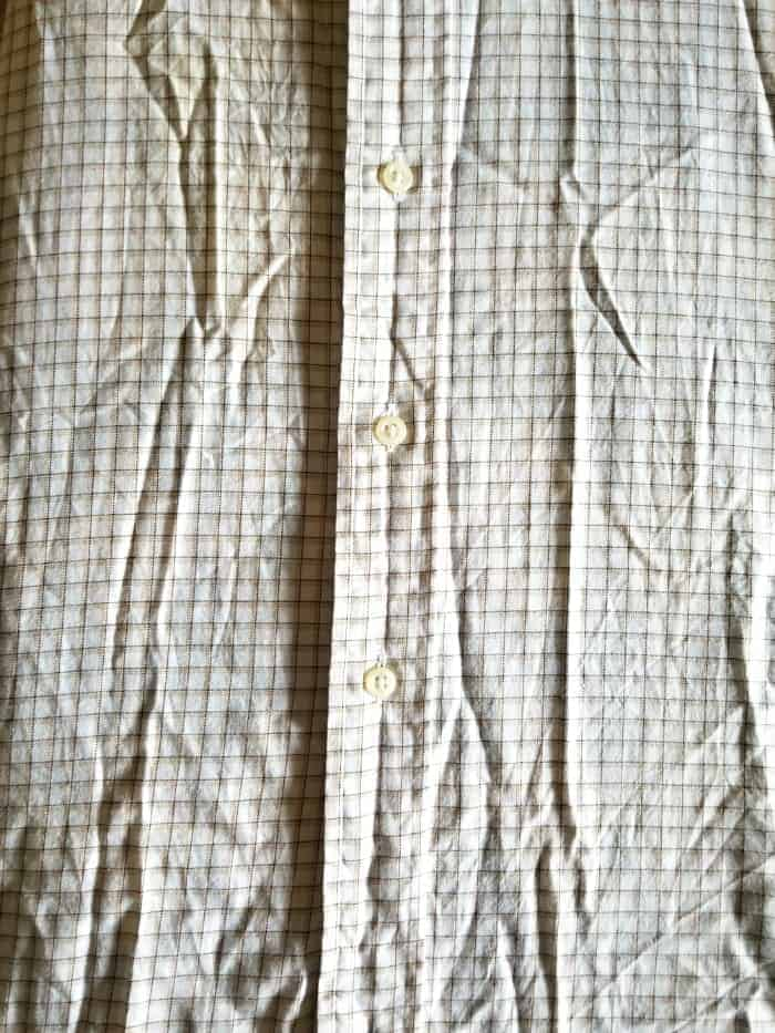 How-To Make a Pillow from a Dress Shirt and Tea Towel | The