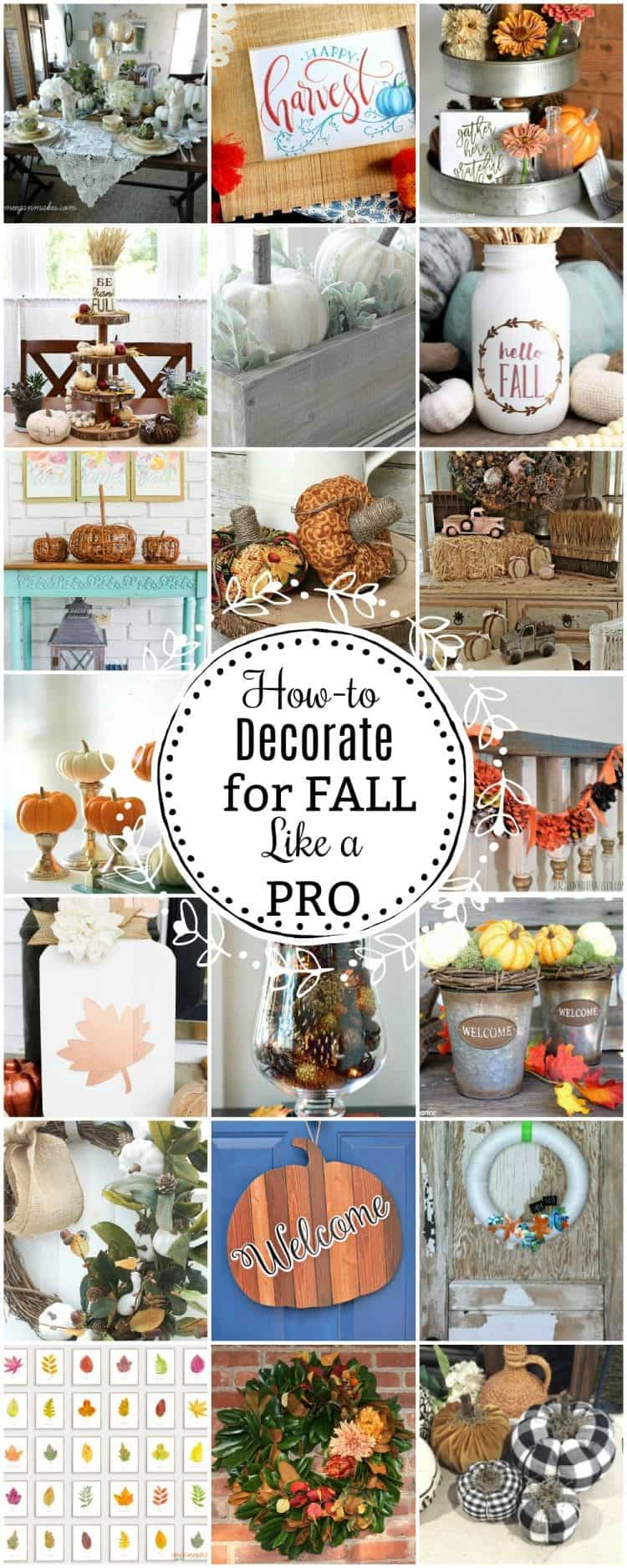 How To Decorate For Fall Like A Pro Home With Cupcakes
