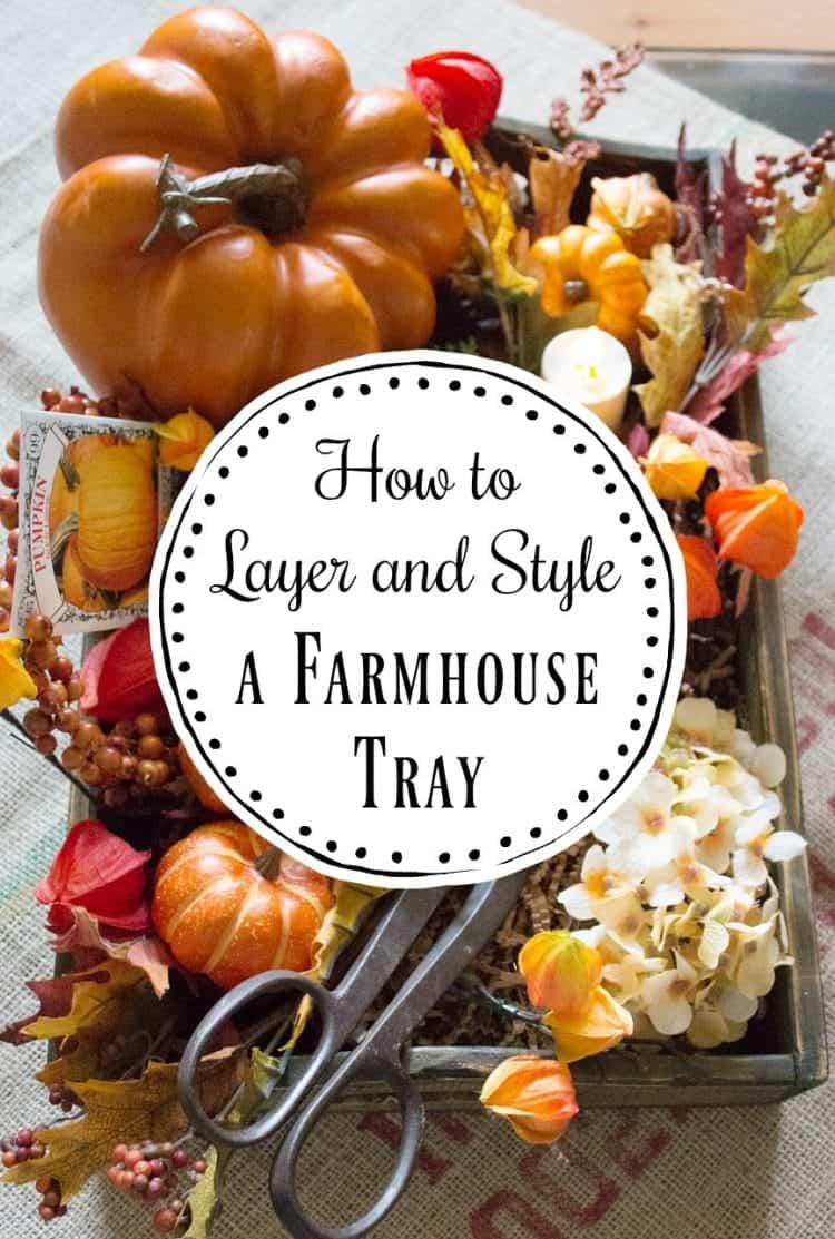 A Dozen Modern Farmhouse Fall Trays