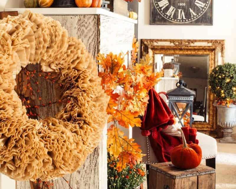 Farmhouse Fall Decor Home Tour