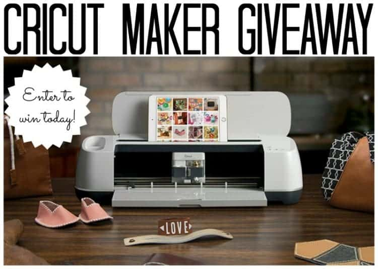 Enter to Win a Cricut Maker at Home with Cupcakes and Crinoline