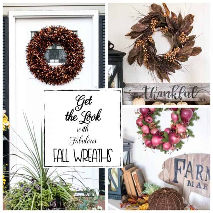 Get the look with these fabulous fall wreaths
