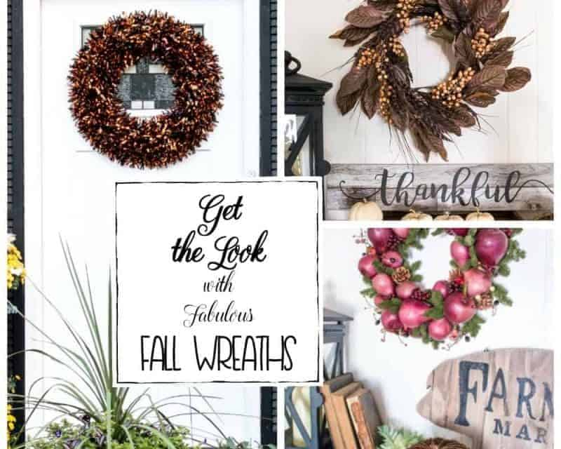 Complete the Look with These 3 Fabulous Fall Wreaths