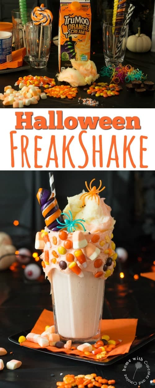 How to make a Halloween FreakShake