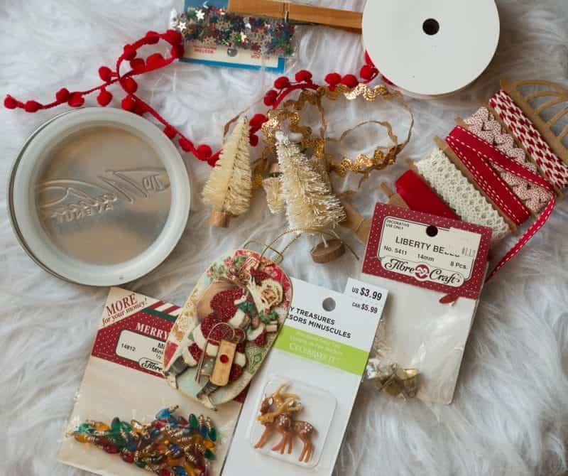 Handmade Ornament - vintage style