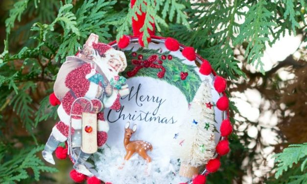 How-To Make a Beautiful Vintage-Style Christmas Ornament