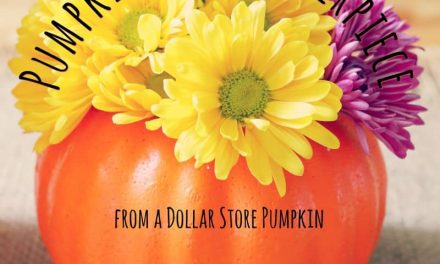 How-to Make a Pumpkin Vase Centerpiece