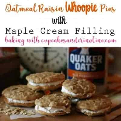 Soft, chewy, and packed with flavor - Oatmeal Raisin Cookies. Add some homemade maple cream frosting for a whoopie pie adventure like no other!