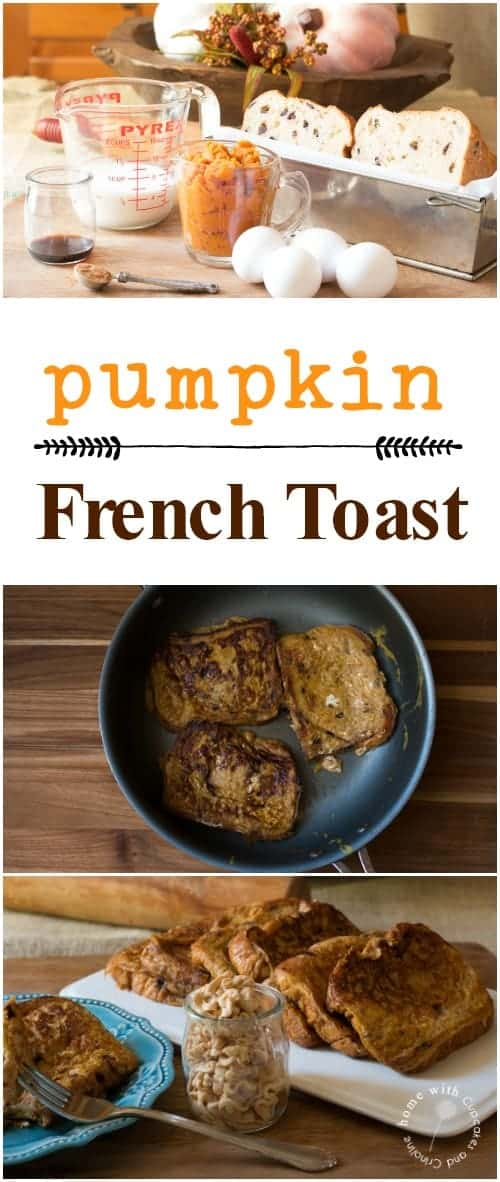 The best pumpkin French Toast ever!