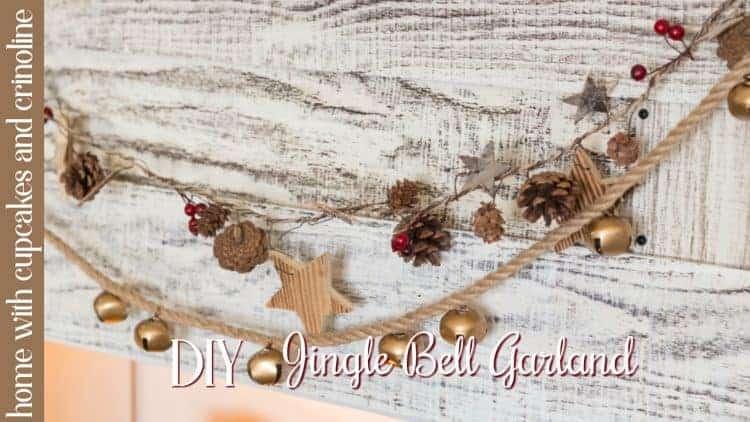 DIY Magnolia Inspired Jingle Bell Garland