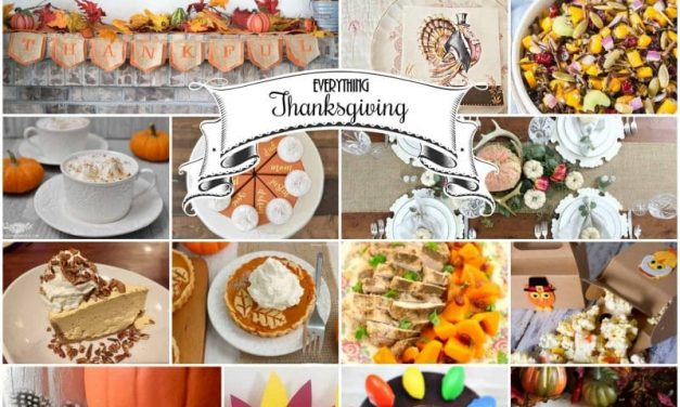 Everything Thanksgiving – 26 Tablescapes, Crafts, Decor, and Recipes
