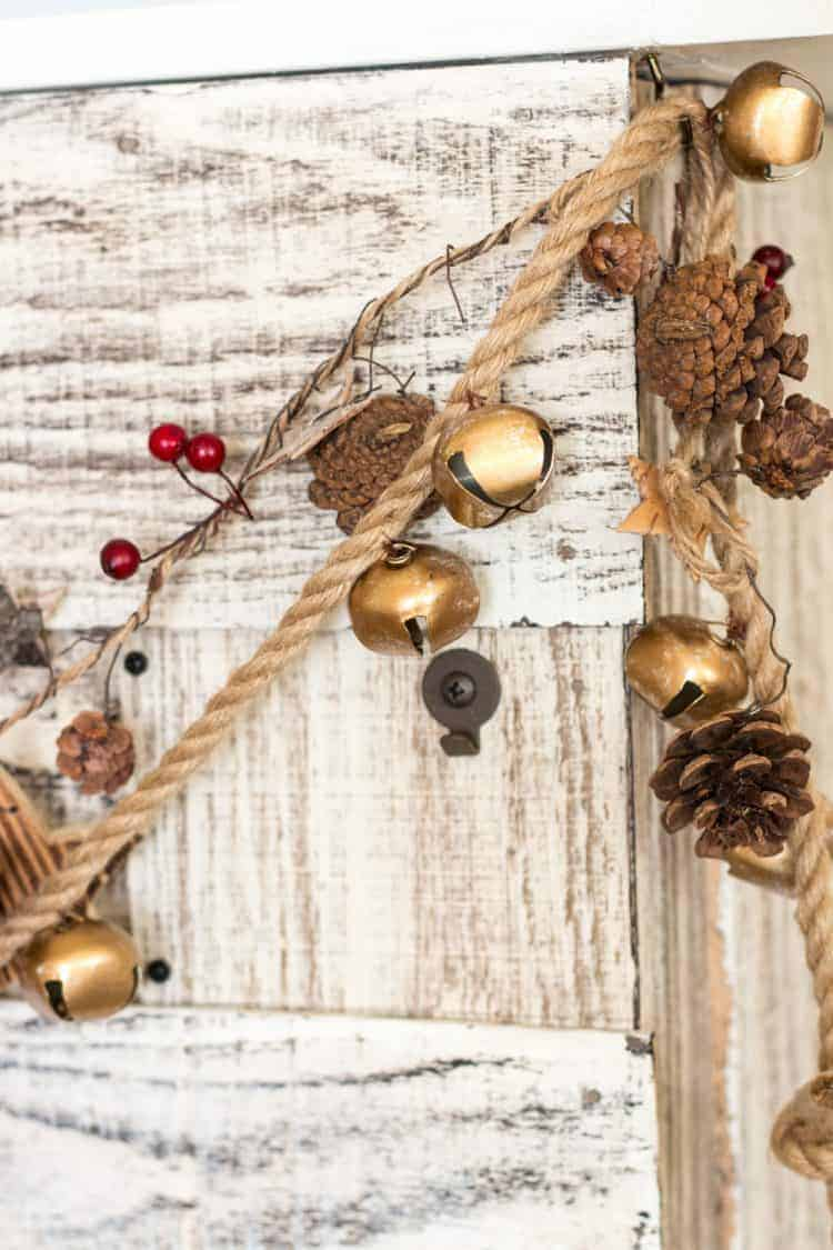 How To Make a Jingle Bell Garland