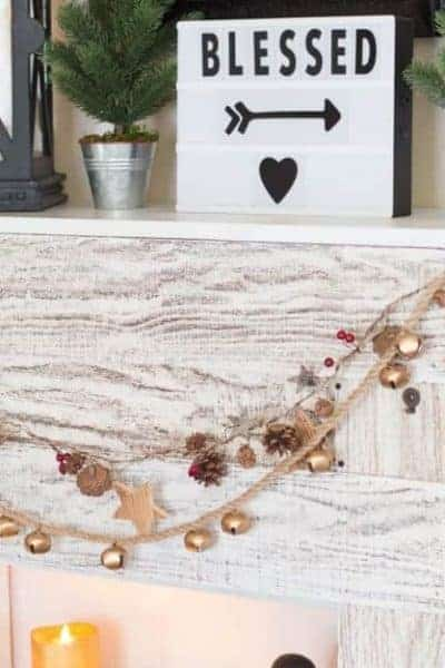How-To Make a Farmhouse Jingle Bell Garland